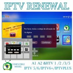 IPTV Box Activation Renew...